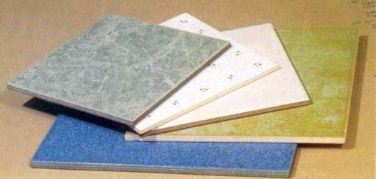 Виды отделочных плиток