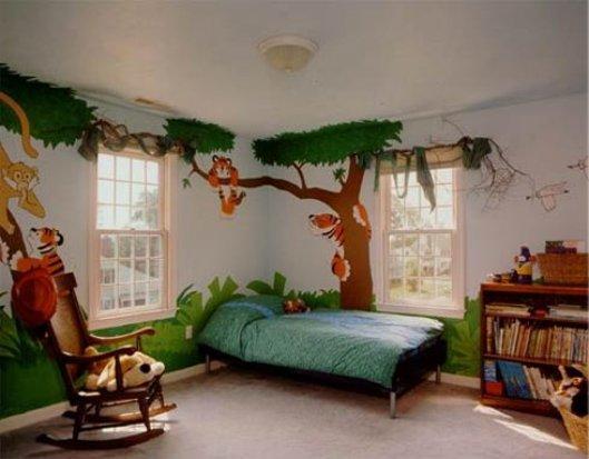 Правила оформления детской комнаты.