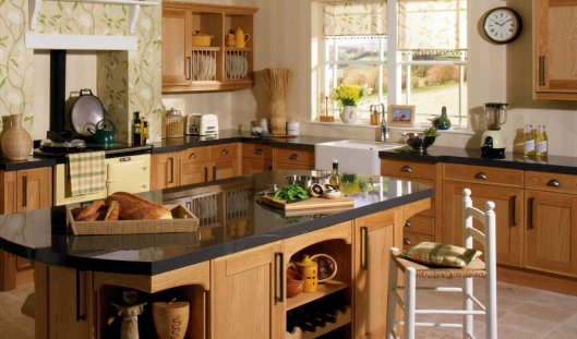 Тостер в интерьере кухни