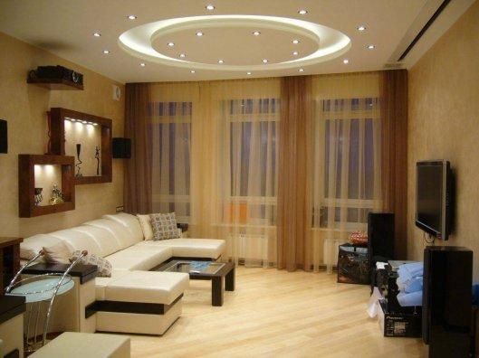 Как обустроить гостиную комнату