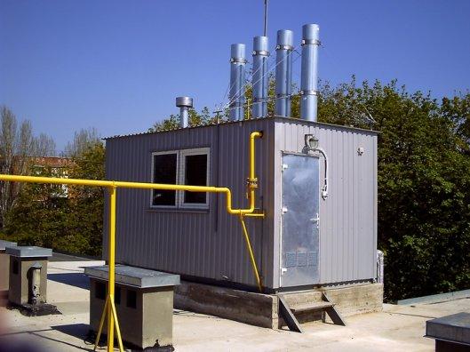 Установка газовой автономной котельной