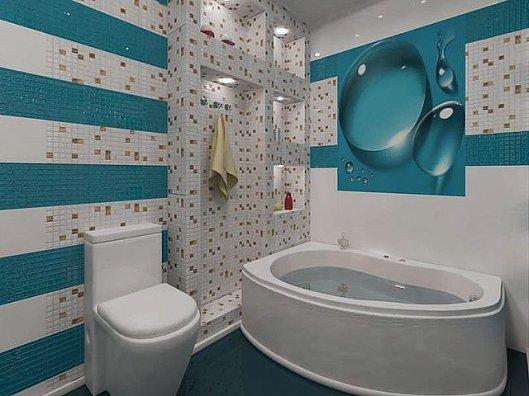 Эконом ремонт ванной комнаты в Москве