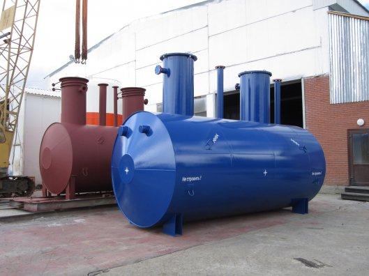 Области применения металлических подземных резервуаров