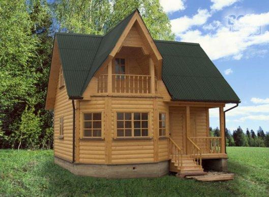 Виды дачных домов
