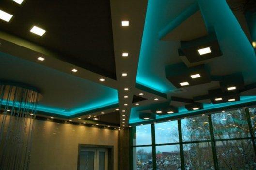 Светодиодные led светильники для подвесных потолков