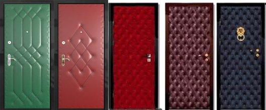 Как утеплить металлическую дверь?