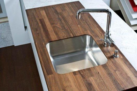 Виды кухонных столешниц: плюсы, минусы, особенности
