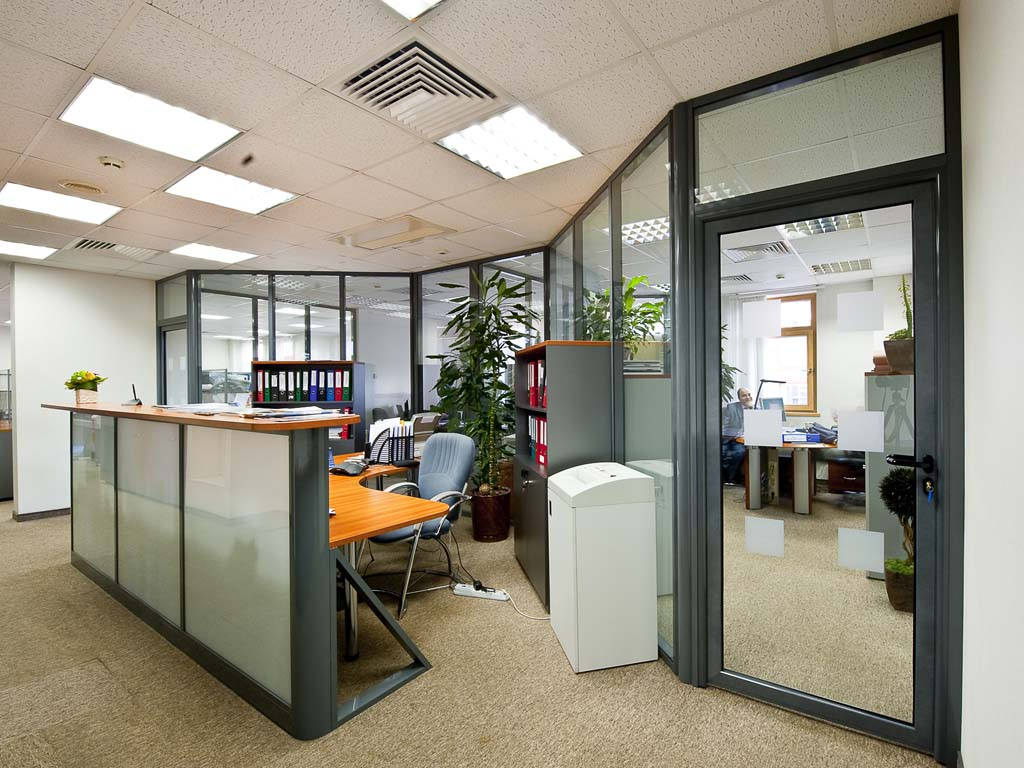 Офисные перегородки – забота о личном пространстве сотрудника