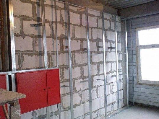 Гипсокартонные стены — делаем сами. Ремонт самостоятельно