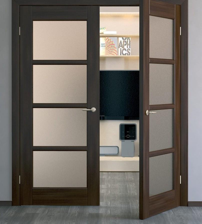 Критерии выбора распашных межкомнатных дверей