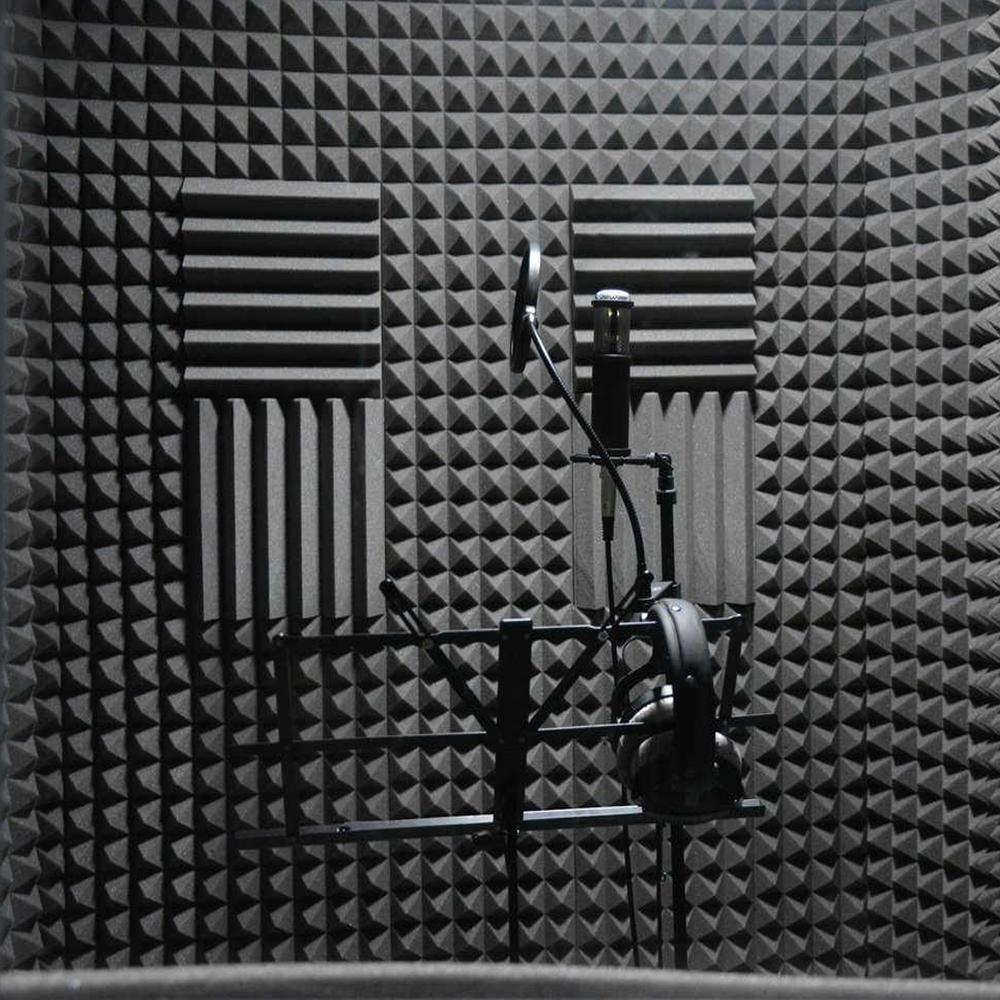 Использование акустического поролона в помещении