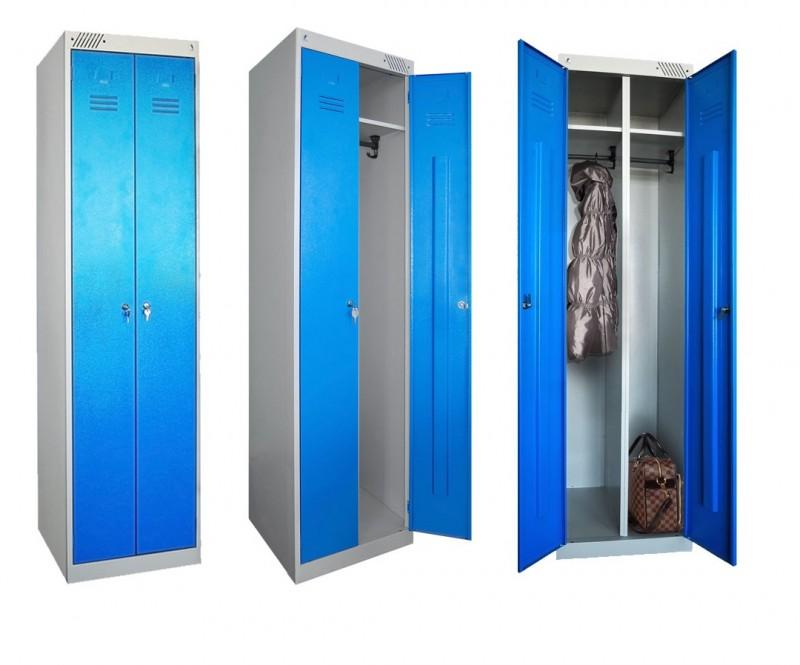 Преимущества металлических шкафов для раздевалок
